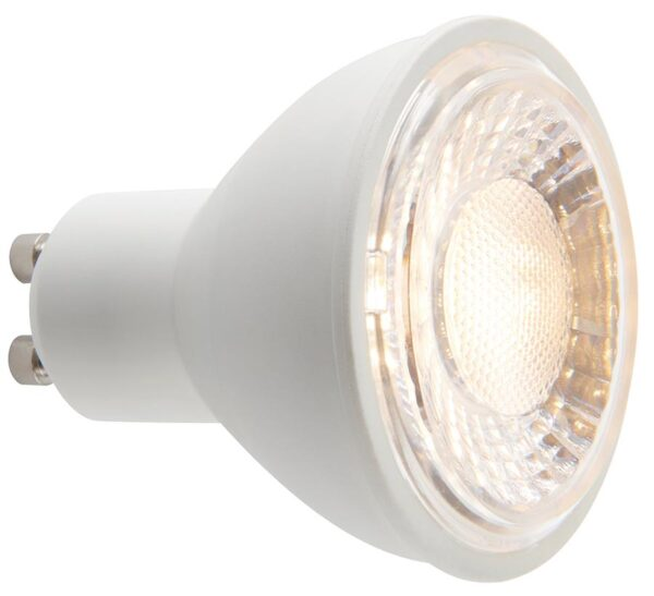 Warm White 7W GU10 SMD Dimmable LED Lamp 60 Degree Beam