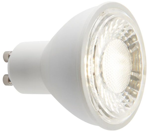 Cool White 7W GU10 SMD Dimmable LED Lamp 60 Degree Beam