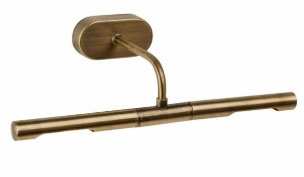 Modern antique brass 350mm slimline picture light