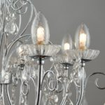 Tabitha 8 Light Crystal Bathroom Chandelier Polished Chrome