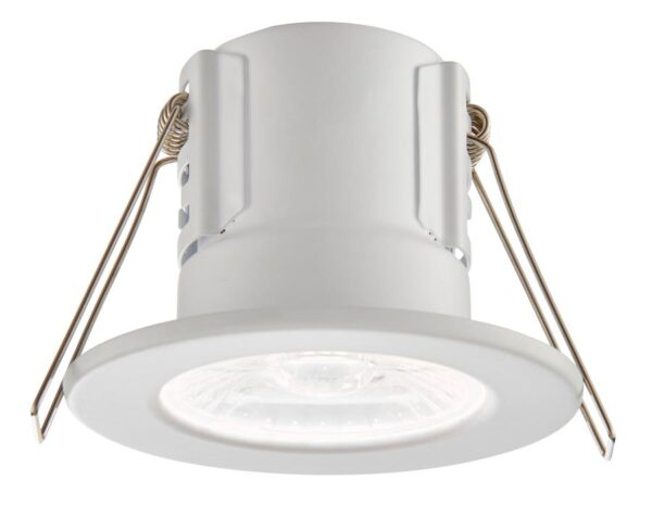 ShieldECO Dimmable 4w Cool White LED Fire Rated IP65 Downlight White