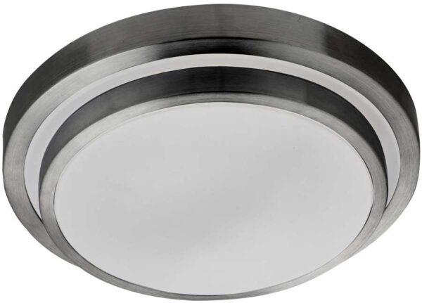 Modern Round Aluminium IP44 LED Bathroom Ceiling Light