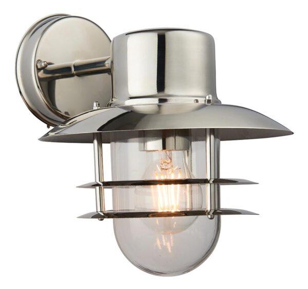Jenson 304 Stainless Steel 1 Light Outdoor Wall Lantern IP44