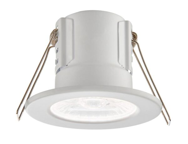 ShieldECO 800 Cool White LED Fire Rated IP65 Downlight White