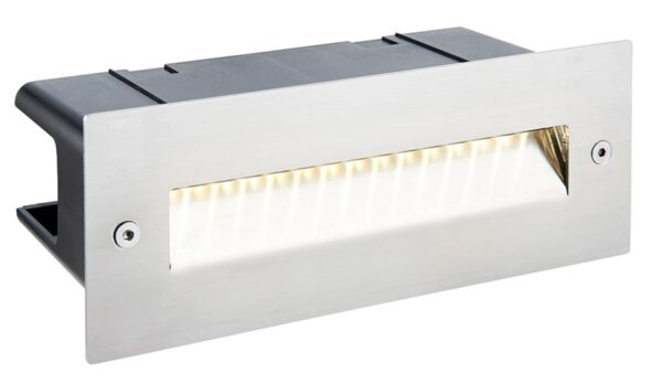 Seina 316 Stainless Steel 2w LED Sloping Letterbox Brick Light IP44