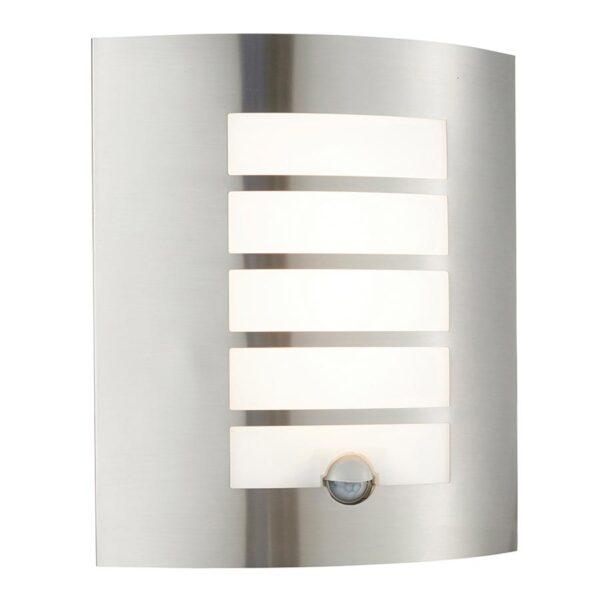Bianco LED Modern 304 Stainless Steel Outdoor PIR Wall Light IP44