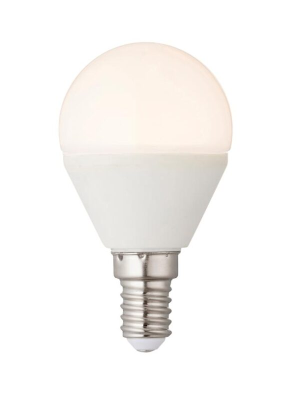 Dimmable 4.5w LED E14 Golf Ball Light Bulb Warm White 350 Lm