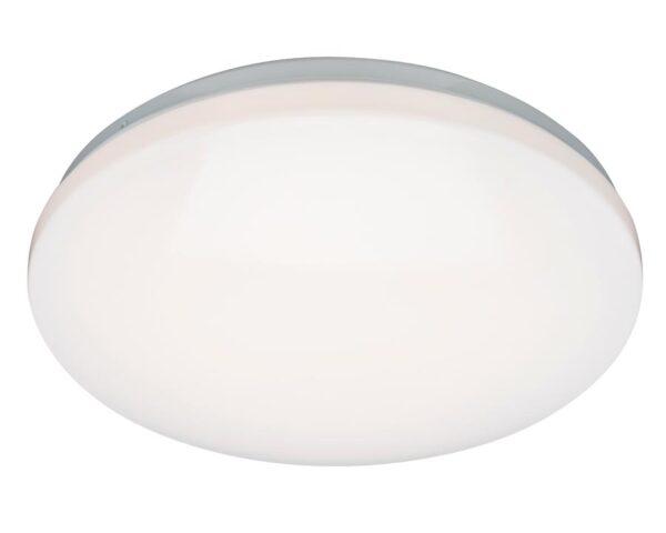 Broco Microwave Flush 16w LED Bathroom Ceiling Light White IP44