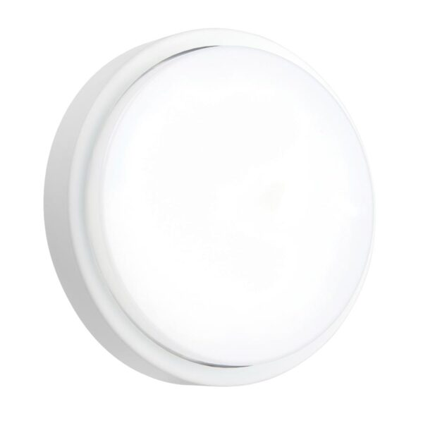 Rond 12w Cool White LED Outdoor Bulkhead / Porch Light IP54