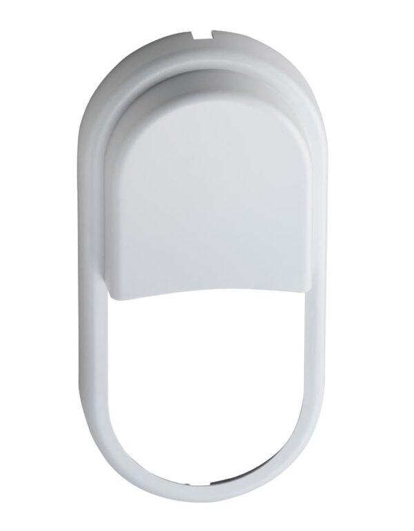 Pillo Small 12w LED Outdoor Bulkhead Light White Eyelid Bezel
