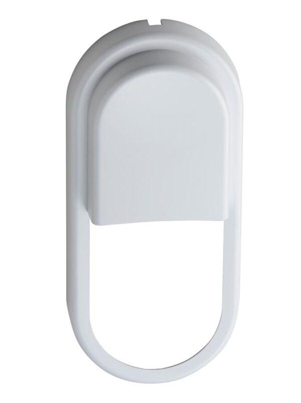 Pillo Large 18w LED Outdoor Bulkhead Light White Eyelid Bezel