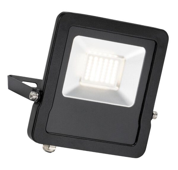 Saxby Surge 20w cool white LED outdoor security foodlight black IP65
