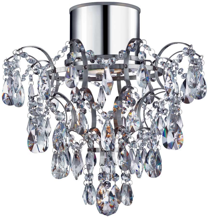 Contemporary chrome ip44 bathroom crystal chandelier 7901 1cc led - Bathroom crystal chandelier ...
