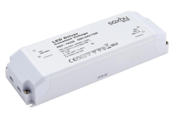 Constant Voltage 24v LED Driver Non Dimmable 75w