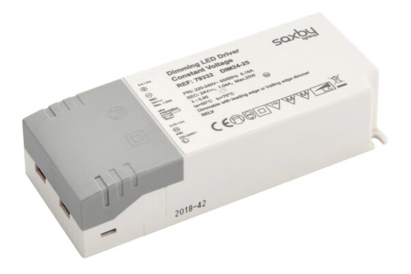 Constant Voltage 24v Dimmable LED Driver 25w