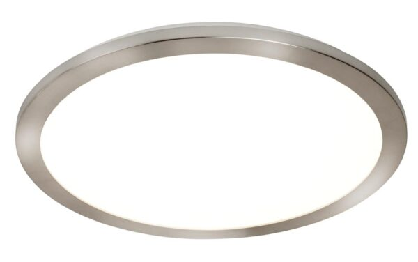 8101-40SS medium 40cm LED flush bathroom ceiling light