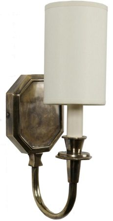 Diane Period Replica Single Wall Sconce Solid Brass