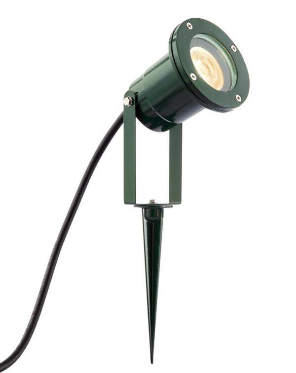 Opaz MV Green Aluminium Garden Spike Spot Light IP44
