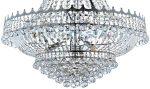 Versailles Large Polished Chrome 13 Light Crystal Chandelier