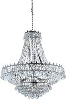 Versailles Large Polished Chrome 13 Light Crystal Chandelier