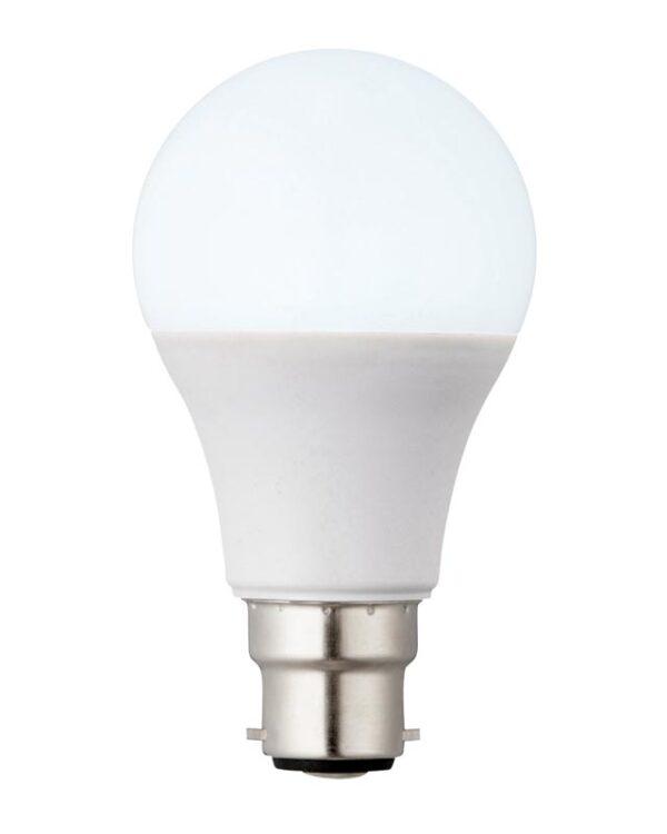 B22 GLS Light Bulb 10W LED 6000k Daylight White 806 Lumen