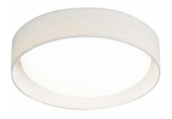 Gianna 18w LED 37cm flush ceiling light white shade