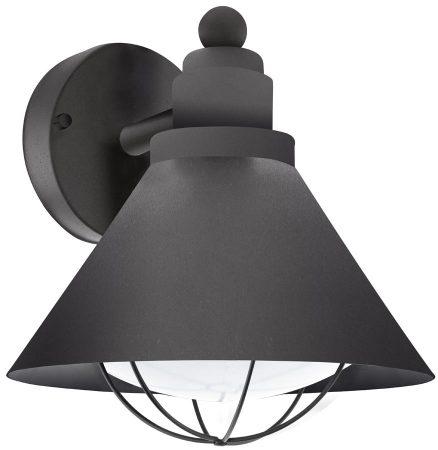 Barrosela Traditional Black Finish Outdoor Wall Lantern IP44