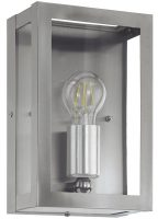 Alamonte Stainless Steel 1 Light Outdoor Box Lantern IP44