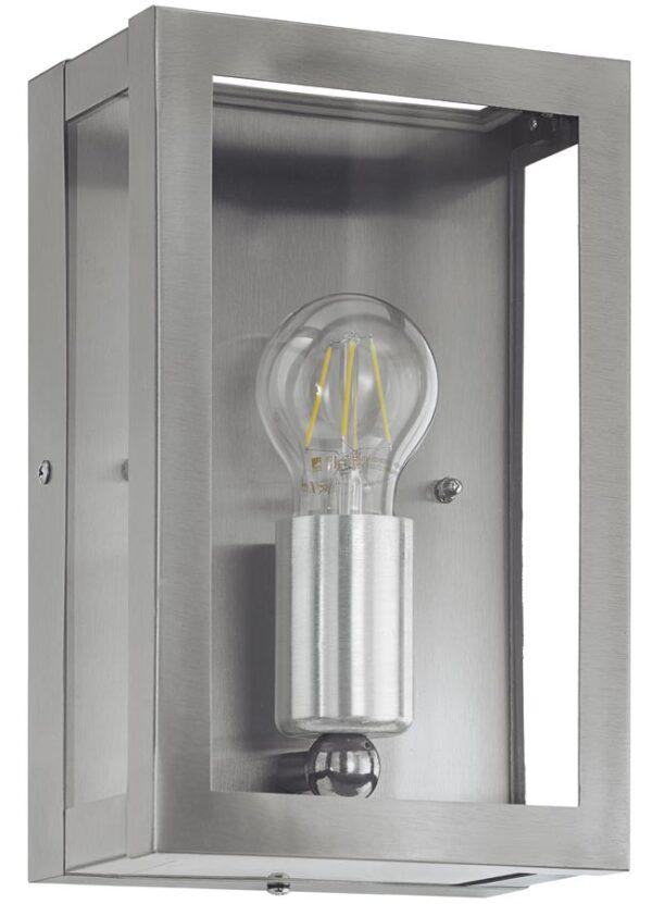 Alamonte Stainless Steel 1 Light Outdoor Box Lantern IP44
