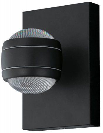 Sesimba Contemporary LED Outdoor Wall Light Black IP44