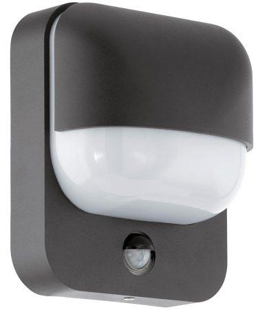 Trabada Modern Outdoor Wall Light With PIR Black IP44
