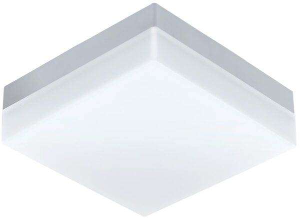 Sonella Square White Outdoor LED Bulkhead Or Porch Light