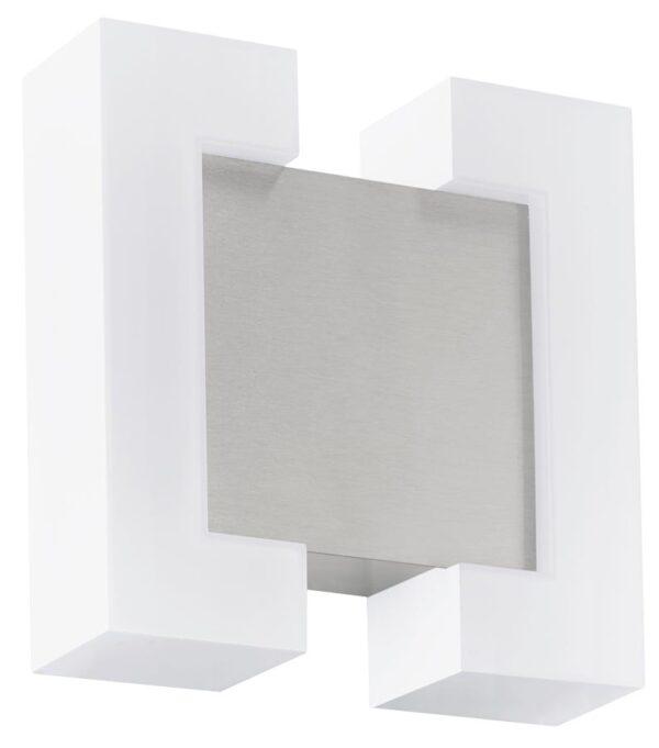 Sitia Contemporary Matt Nickel LED Outdoor Wall Light IP44