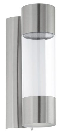 Robledo Stainless Steel LED Outdoor Tube Wall Light IP44