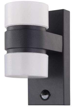Atollari Modern 12w LED Outdoor Sensor Light Anthracite IP44