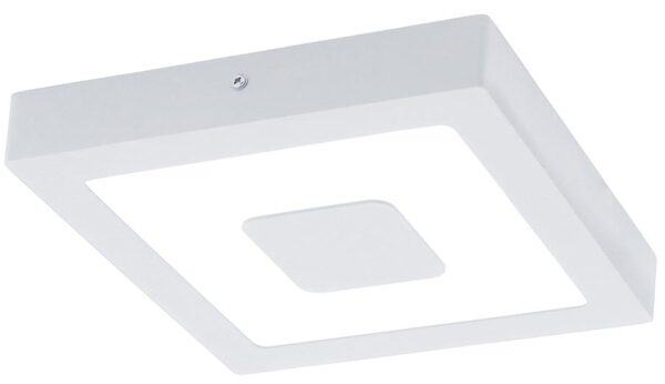 Iphias Modern White Square Outdoor LED Bulkhead Light IP44