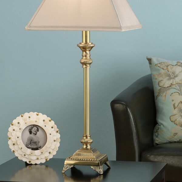Wilmington Solid Cast Brass Traditional Table Lamp Base