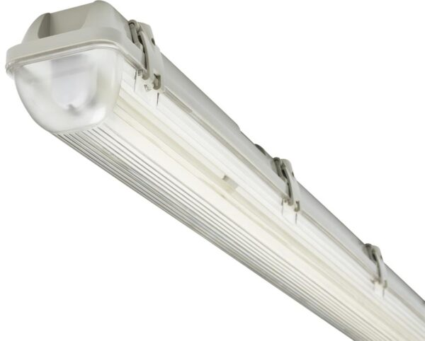 5ft Non Corrosive IP65 1 x 58w T8 Garage Fluorescent