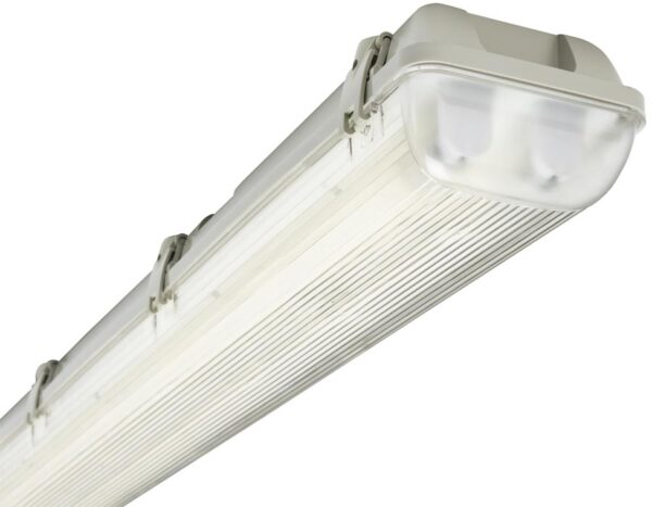 4ft Non Corrosive IP65 2 x 36w T8 Garage Fluorescent