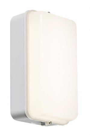 Rust Proof 5W Cool White LED Outdoor Bulkhead Light White IP54