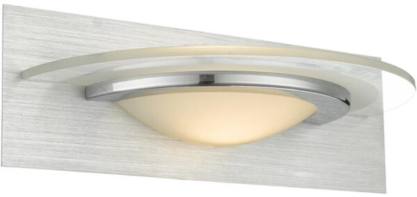Dar Analyze 5w Switched LED Wall Light In Dual Chrome
