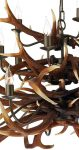 David Hunt Antler 17 Light Highland Rustic Large Chandelier