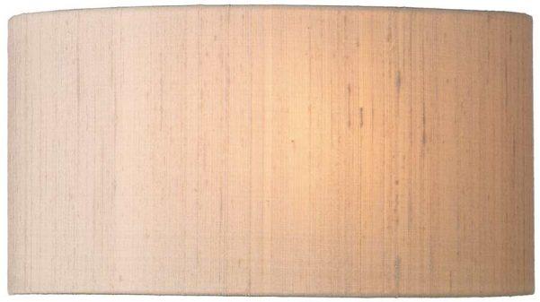 David Hunt Ascott Modern Wall Washer Light Silk Shade UK Made