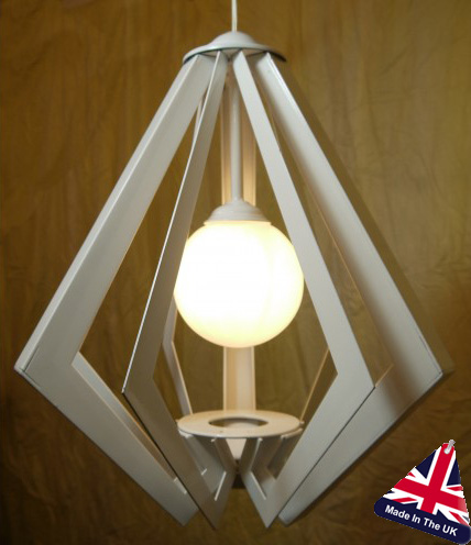 Tower Small Architectural Art Deco Chandelier