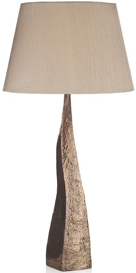 David Hunt Aztec Table Lamp Base Only Copper Finish