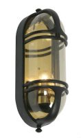 Art Deco Style Outdoor Bulkhead Wall Lamp Buckley