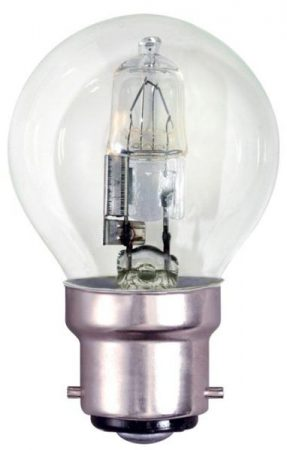 Bell 10 Pack Energy Saving 42w BC Clear Golf Ball Lamps