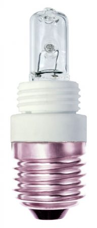 E27 Light Bulb Adaptor With 28W G9 Capsule Lamp