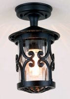 Elstead Hereford Flush English Style Outdoor Porch Lantern