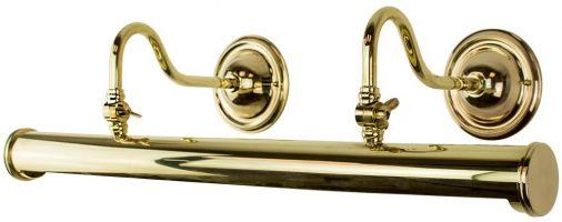 Blenheim Handmade Solid Brass 640mm Tube Picture Light
